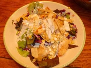 11 baja fish salad plate