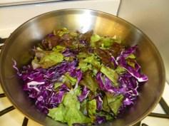 3 baja fish salad lettuce and cabbage