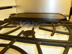 7 cast iron grill top