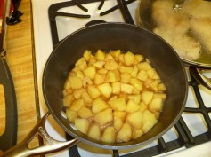 8 apples done cooking