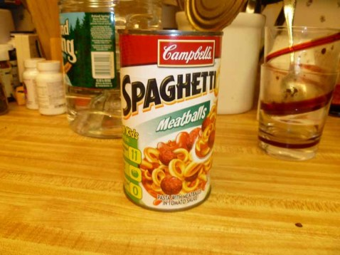 Spaghetti-Os with Meatballs ingredients