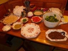 Taco table