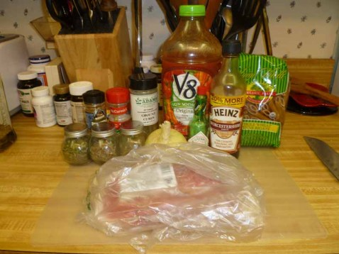 MacGyver Meat Sauce Ingredients