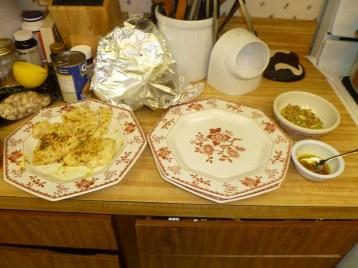Lemon Pistachio Chicken Set-Up
