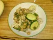 Vegetable Stir Fry Plated