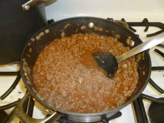 MacGyver Meat Sauce Simmering