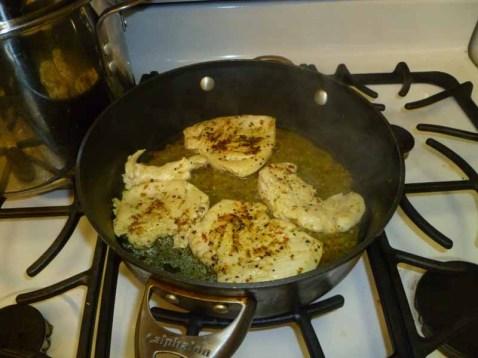 Cooked Lemon Pistachio Chicken