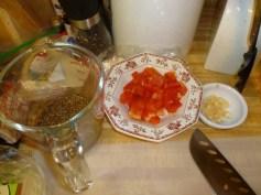 Chopped Red Pepper & Garlic