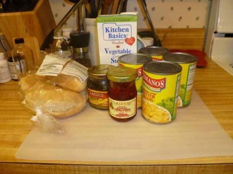 Lima Bean, Sun-Dried Tomato & Pesto Soup Ingredients