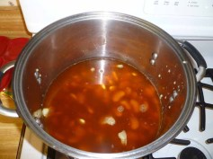 Lime Beans In Vegetable Stock