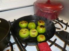 Grilling Tomatillos & Jalapenos