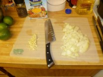 Chopped Onion & Garlic