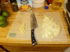 Chopped Onion & Garlic