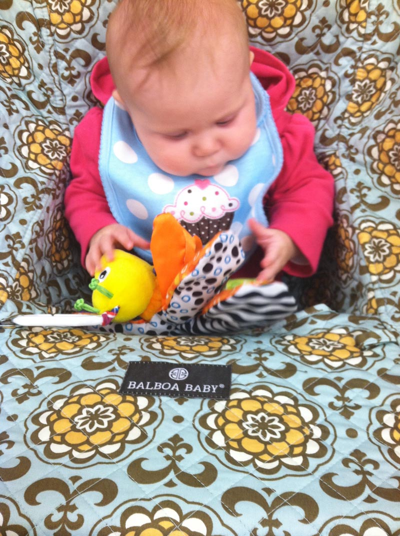 pop poppa product review balboa baby shopping cart  high chair  - but now
