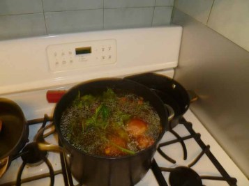 Stock Cooking