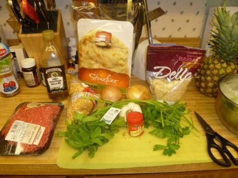 Herb & Beef Soup Ingredients