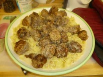 Meatballs & Gravy Added