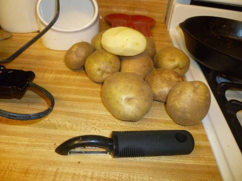 Potatoes For Peeling