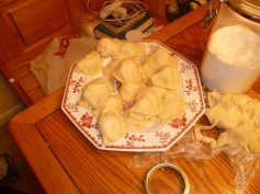 A Plate Of Pierogies