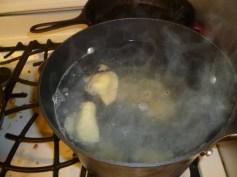Boiling Pierogies
