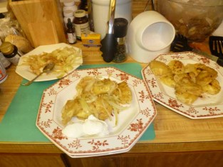 Pierogie Plate & Set-Up