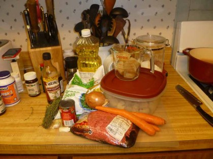 Shepherd's Pie Ingredients