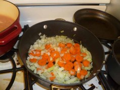 Cooking Carrots & Onions