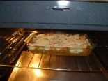 Potatoes Covering Mixture In Oven