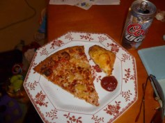 Domino's Pizza Plated