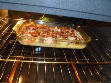 Sausage & Egg Casserole With Bacon