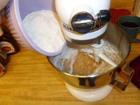 Adding The Flour & Baking Soda