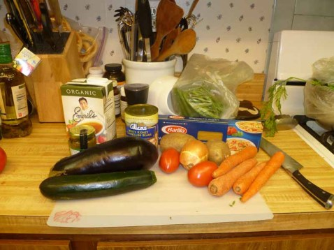 Genoese Minestrone Soup Ingredients