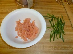 Chopped Pickled Ginger & Scallions