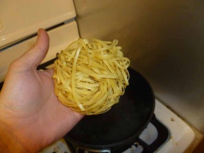 Egg Noodle Nest