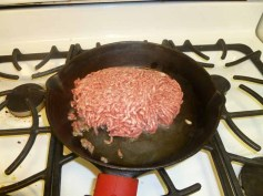 Beef In The Pan