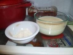2 Tablespoons Flour & 2 Cups Milk