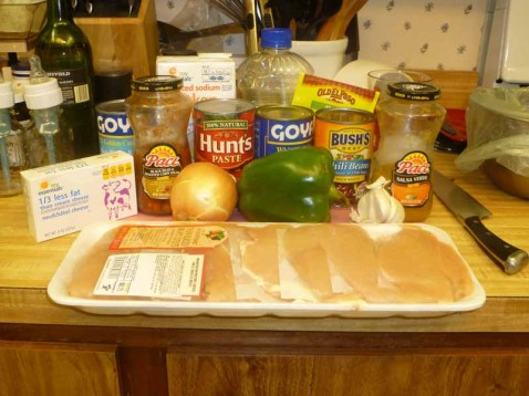 Tex Mex Chicken Taco Soup Ingredients