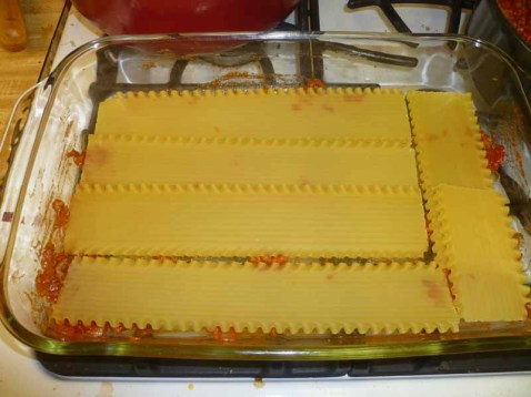 Lasagna Noodle Layer One
