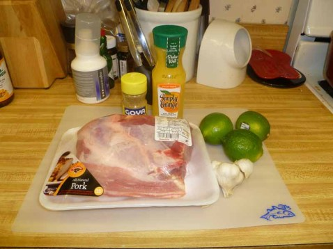 Homesick Texan Carnitas Ingredients
