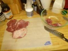 Cutting Up The Pork Butt
