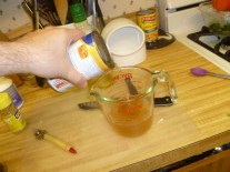 Measuring Vegetable Stock