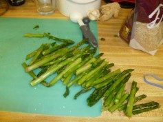 Broken Up Asparagus