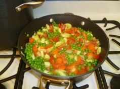 Tomatoes & Peas