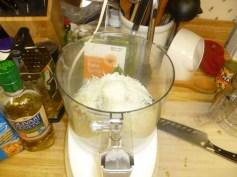 Parmesan, Garlic, Lemon & Salt In Food Processor