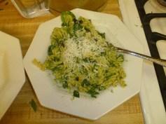 Broccoli Pesto & Fusilli Plated