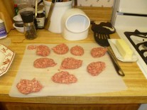 Sausage Patties Pre-Cooked