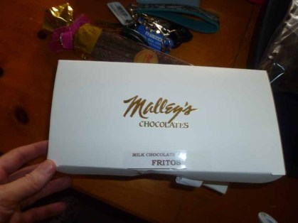 Malley's Chocolate Covered Fritos Box