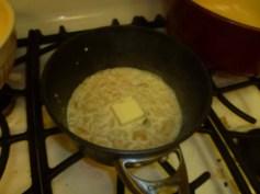 First Pat Of Butter