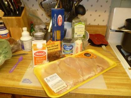 Chicken Milano Ingredients