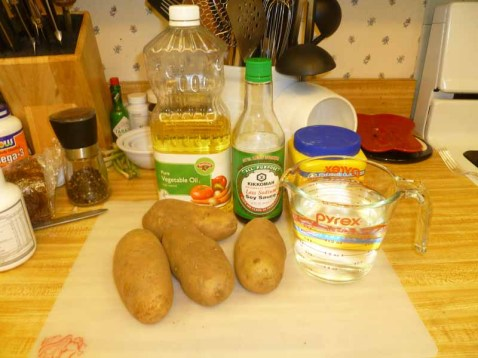 Oven French Fry Ingredients